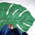 Ковер лист монстеры 120*180 Lorena Canals