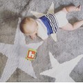 Ковер Three Stars серые и розовые 120*160 Lorena Canals