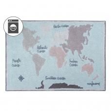 Ковер Винтажная карта 140*200 Lorena Canals