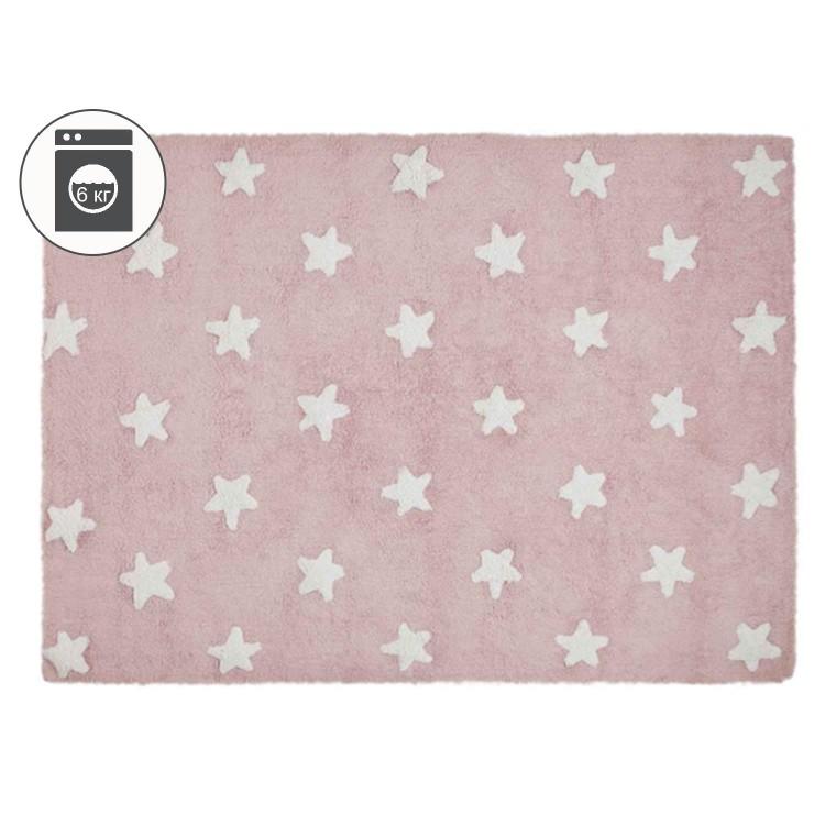 Ковер Stars розовый с белым 120*160 Lorena Canals
