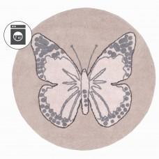 Ковер бабочка винтажный бежевый 160D Lorena Canals