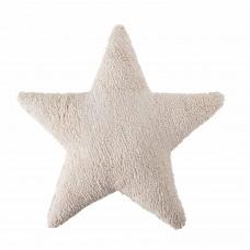 Подушка Star бежевая 50*50 Lorena Canals