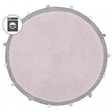 Ковер с помпонами розовый 120D Lorena Canals
