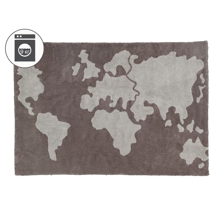 Ковер Карта мира 140*200 Lorena Canals