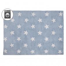 Ковер Stars голубой с белым 120*160 Lorena Canals