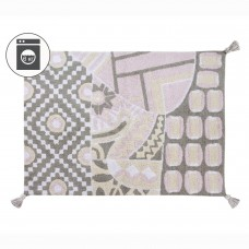 Ковер Indian Bag серый-розовый 120*160 Lorena Canals