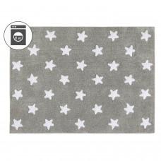 Ковер Stars серый с белым 120*160 Lorena Canals