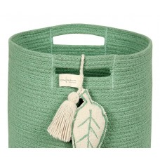 Корзина с листом зеленая 30*30*30 Lorena Canals