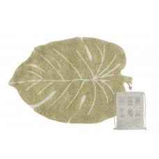Стираемый ковер Mini Monstera Olive Lorena Canals