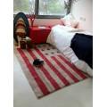 Ковер Флаг США красные полоски 120*160 Lorena Canals