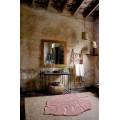 Ковер лист монстеры винтажный нюдовый 120*180 от Lorena Canals