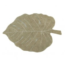 Ковер лист монстеры оливковый 120*180