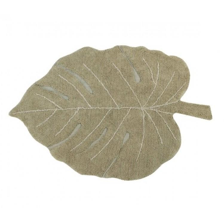 Ковер лист монстеры оливковый 120*180 от Lorena Canals