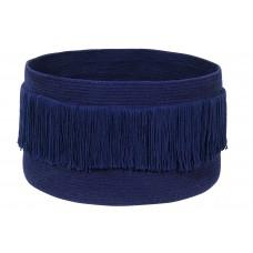 Корзина с бахромой Альска синяя 25*45 Lorena Canals