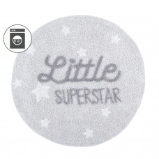 Ковер с надписью Little Superstar 120D Lorena Canals