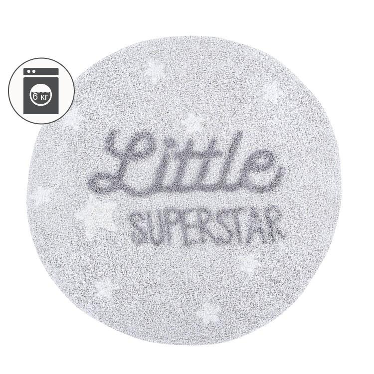 Ковер с надписью Little Superstar 120D Lorena Canals