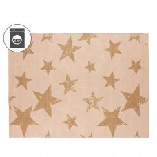 Ковер Звезды оранжево-розовый + наволочка 120*160/50*50 Lorena Canals