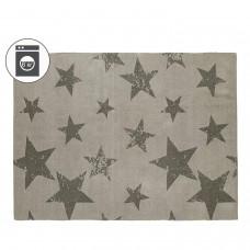 Ковер Звезды серые + наволочка 120*160/50*50 Lorena Canals