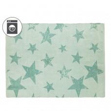 Ковер Звезды зеленый + наволочка 120*160/50*50 Lorena Canals